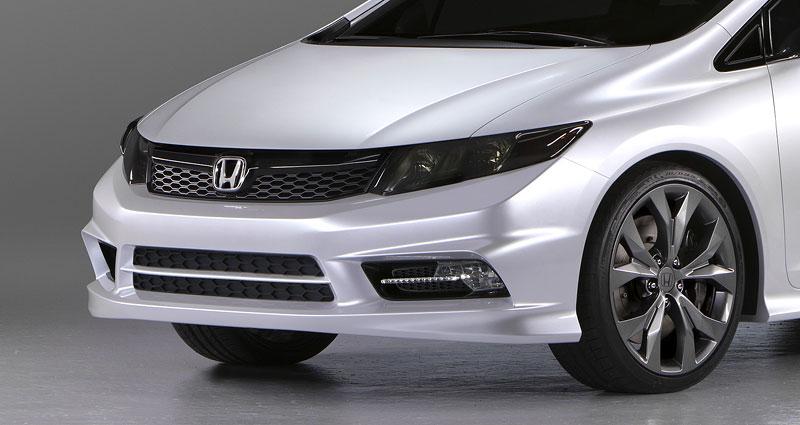 Detroit 2011: Honda Civic Si Coupe Concept: zpátky ve hře: - fotka 21