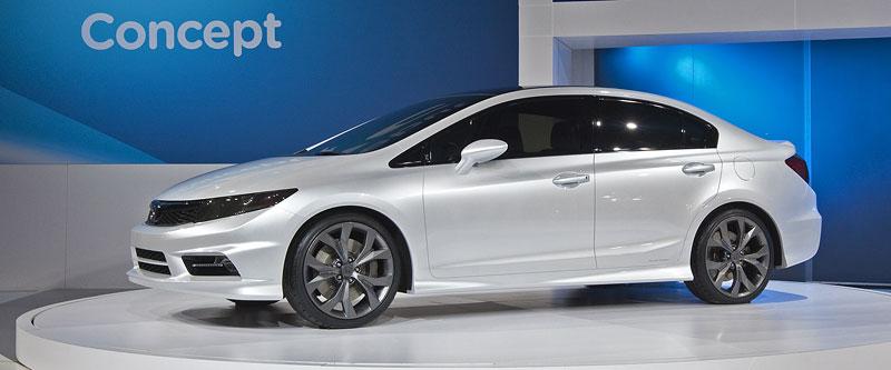 Detroit 2011: Honda Civic Si Coupe Concept: zpátky ve hře: - fotka 22