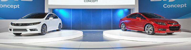 Detroit 2011: Honda Civic Si Coupe Concept: zpátky ve hře: - fotka 23