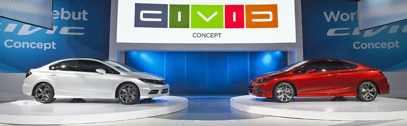 Detroit 2011: Honda Civic Si Coupe Concept: zpátky ve hře: - fotka 24