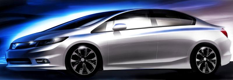 Detroit 2011: Honda Civic Si Coupe Concept: zpátky ve hře: - fotka 25