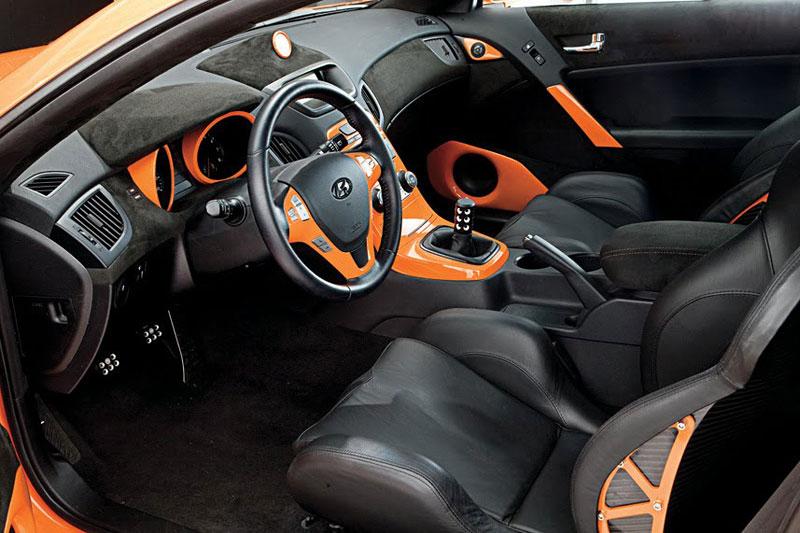 Hyundai Genesis Coupe: sportovec od LUX Motorwerks: - fotka 1