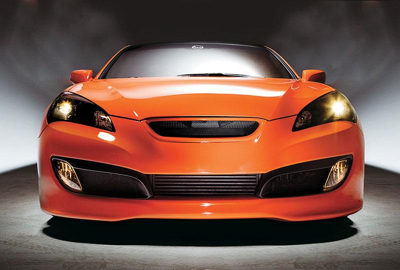 Hyundai Genesis Coupe: sportovec od LUX Motorwerks: - fotka 6