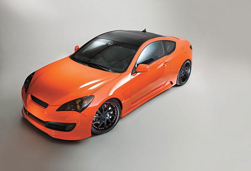 Hyundai Genesis Coupe: sportovec od LUX Motorwerks: - fotka 7