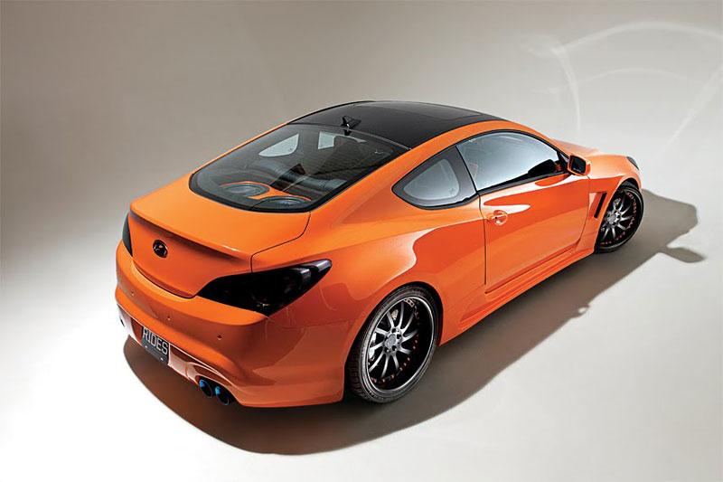 Hyundai Genesis Coupe: sportovec od LUX Motorwerks: - fotka 8