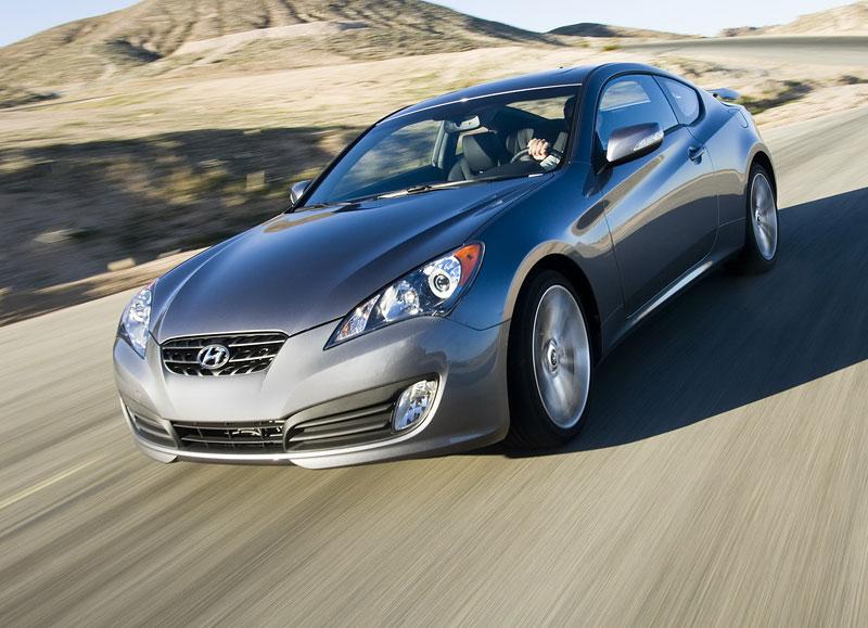 Hyundai Genesis Coupe není rychlý a zběsilý: - fotka 18
