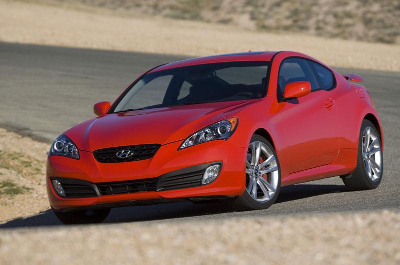 Hyundai Genesis Coupe není rychlý a zběsilý: - fotka 19