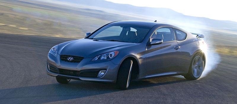 Hyundai Genesis Coupe není rychlý a zběsilý: - fotka 20