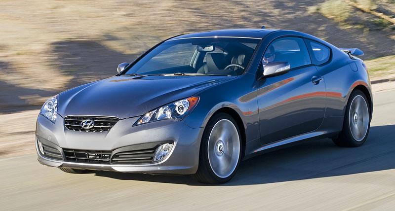 Hyundai Genesis Coupe není rychlý a zběsilý: - fotka 22