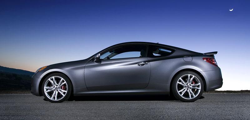 Hyundai Genesis Coupe není rychlý a zběsilý: - fotka 26