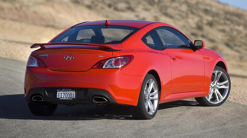 Hyundai Genesis Coupe není rychlý a zběsilý: - fotka 27