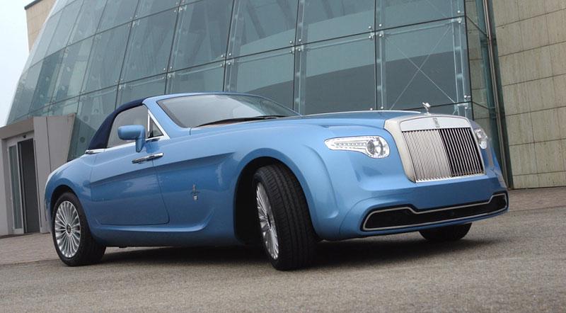 Pininfarina Hyperion - zaoblený Drophead Coupe pro dva: - fotka 3