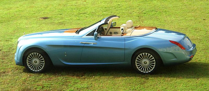 Pininfarina Hyperion - zaoblený Drophead Coupe pro dva: - fotka 8