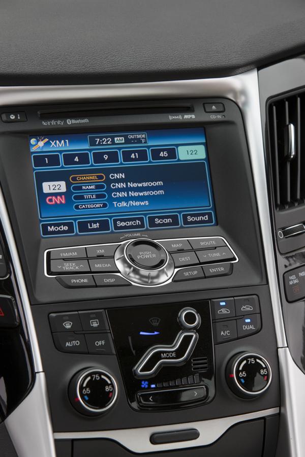 Hyundai Sonata: čtyřdveřové korejské kupé: - fotka 5