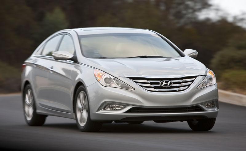 Hyundai Sonata: čtyřdveřové korejské kupé: - fotka 10