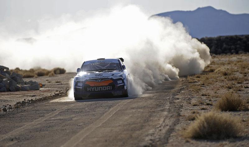 Chicago 2011: Hyundai Veloster - 500koňový rallyeový speciál: - fotka 3