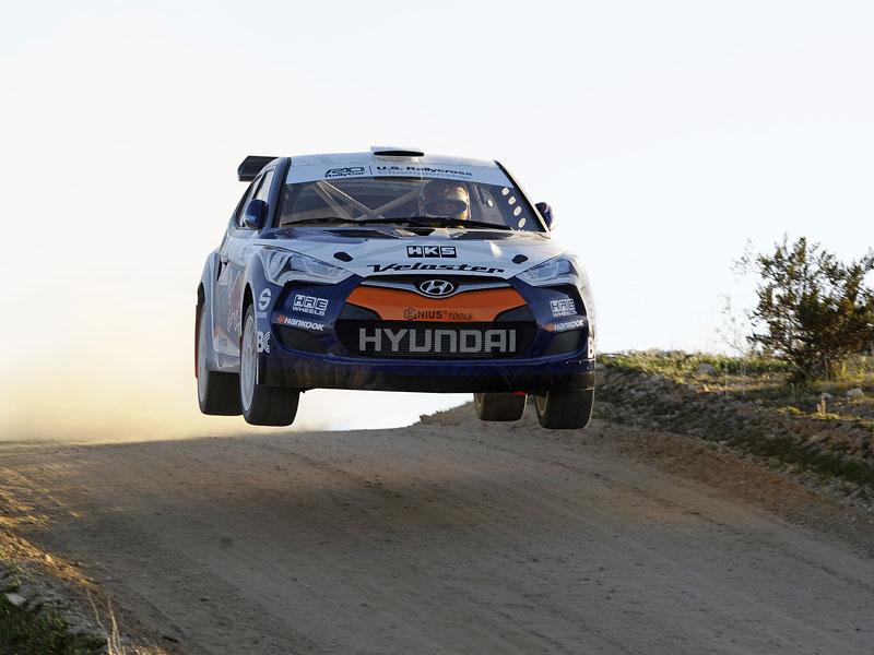 Chicago 2011: Hyundai Veloster - 500koňový rallyeový speciál: - fotka 5