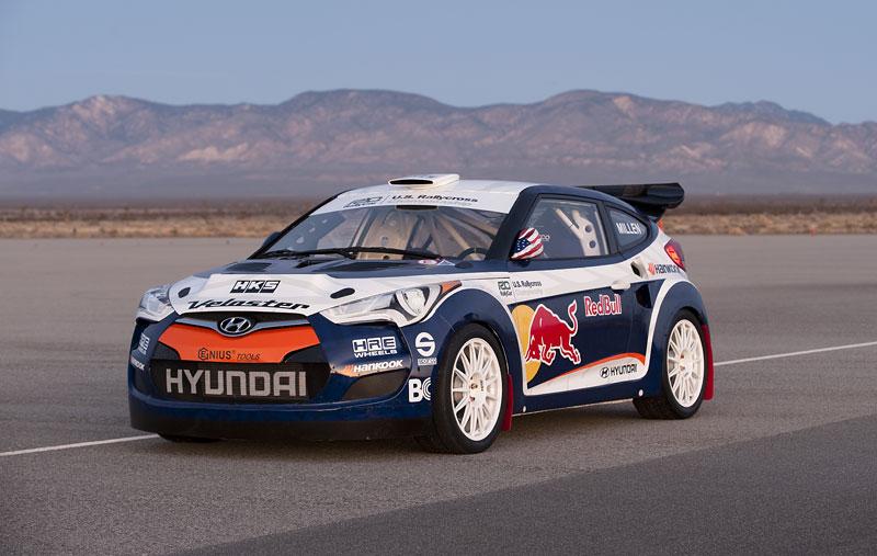 Chicago 2011: Hyundai Veloster - 500koňový rallyeový speciál: - fotka 10
