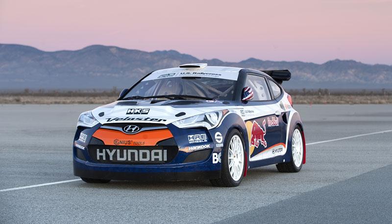 Chicago 2011: Hyundai Veloster - 500koňový rallyeový speciál: - fotka 12