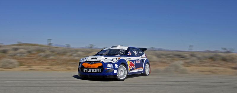 Chicago 2011: Hyundai Veloster - 500koňový rallyeový speciál: - fotka 17