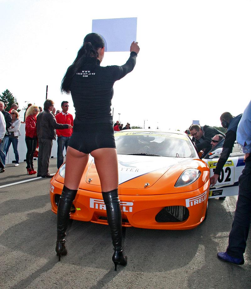 Ferrari Racing Days Brno 2009 - BABES: - fotka 1