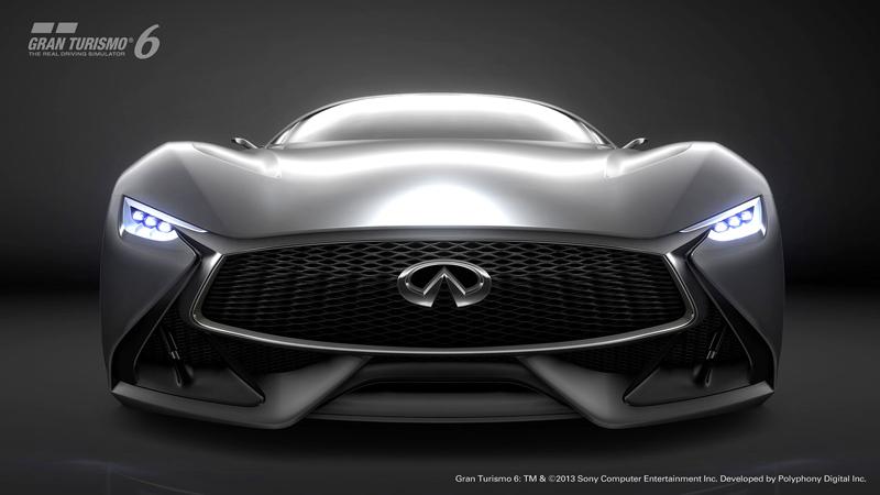 Infiniti Vision GT Concept vystoupilo z virtuální reality (+video): - fotka 1