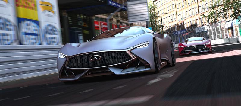 Infiniti Vision GT Concept vystoupilo z virtuální reality (+video): - fotka 4