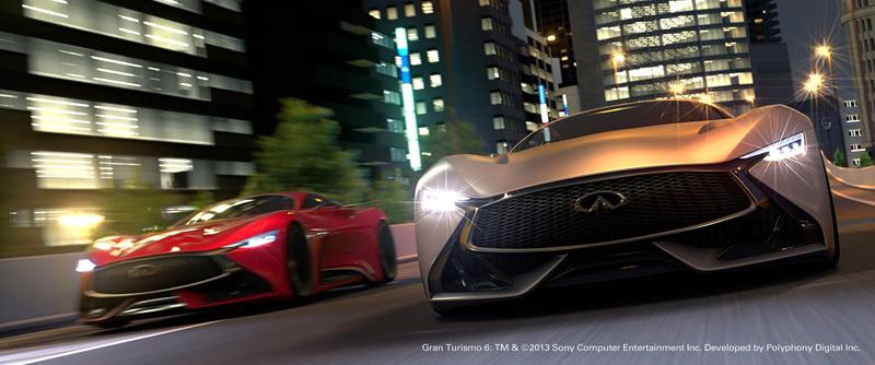 Infiniti Vision GT Concept vystoupilo z virtuální reality (+video): - fotka 7