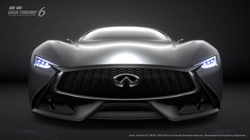 Infiniti Vision Gran Turismo Concept: Bumerang s vizí budoucnosti: - fotka 1