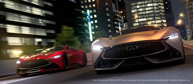 Infiniti Vision Gran Turismo Concept: Bumerang s vizí budoucnosti: - fotka 2