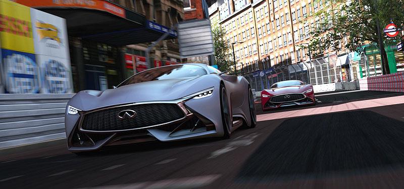 Infiniti Vision Gran Turismo Concept: Bumerang s vizí budoucnosti: - fotka 4
