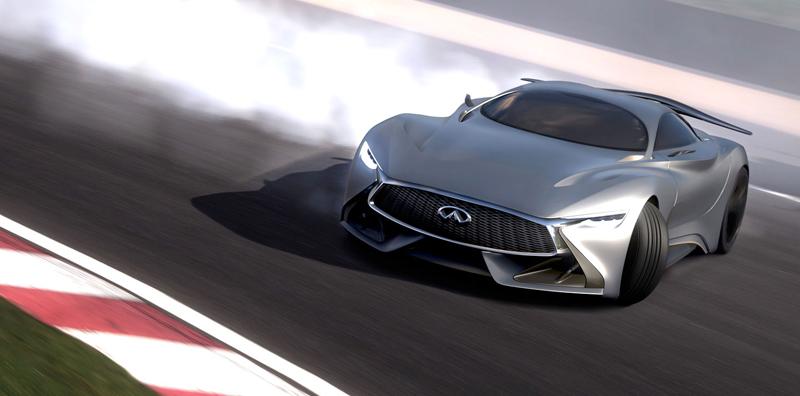 Infiniti Vision GT Concept vystoupilo z virtuální reality (+video): - fotka 10