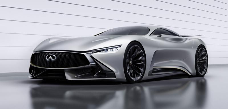 Infiniti Vision GT Concept vystoupilo z virtuální reality (+video): - fotka 11