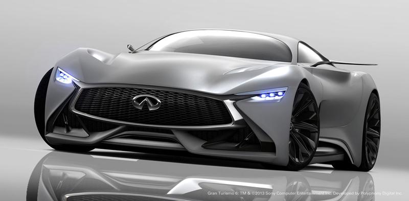 Infiniti Vision GT Concept vystoupilo z virtuální reality (+video): - fotka 13