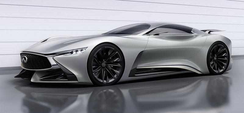 Infiniti Vision Gran Turismo Concept: Bumerang s vizí budoucnosti: - fotka 5