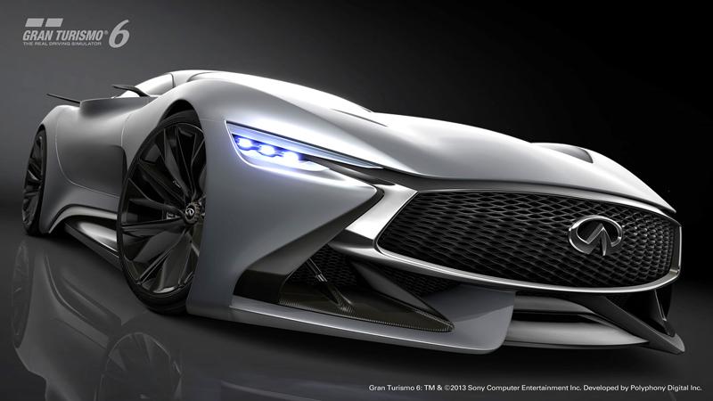 Infiniti Vision GT Concept vystoupilo z virtuální reality (+video): - fotka 15