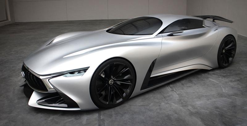 Infiniti Vision GT Concept vystoupilo z virtuální reality (+video): - fotka 17