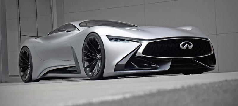 Infiniti Vision GT Concept vystoupilo z virtuální reality (+video): - fotka 19