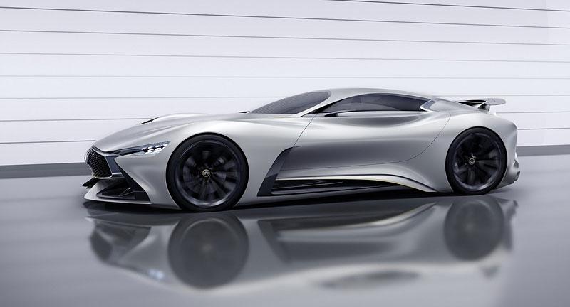 Infiniti Vision Gran Turismo Concept: Bumerang s vizí budoucnosti: - fotka 6