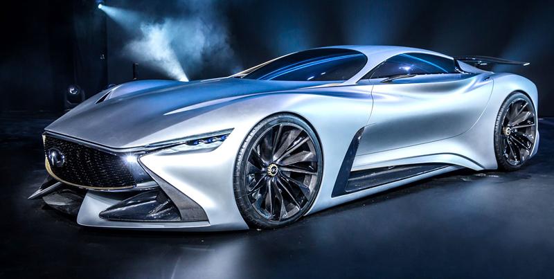 Infiniti Vision GT Concept vystoupilo z virtuální reality (+video): - fotka 20