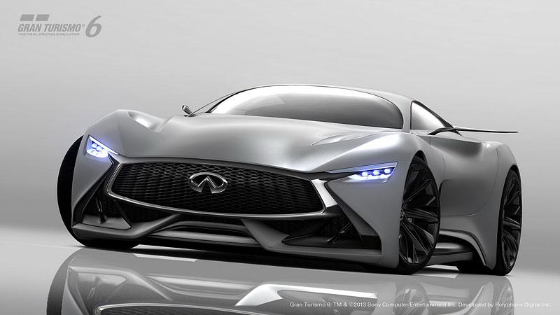 Infiniti Vision Gran Turismo Concept: Bumerang s vizí budoucnosti: - fotka 7