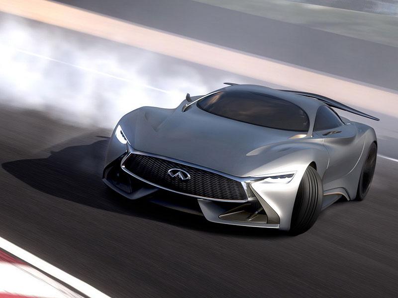 Infiniti Vision Gran Turismo Concept: Bumerang s vizí budoucnosti: - fotka 8