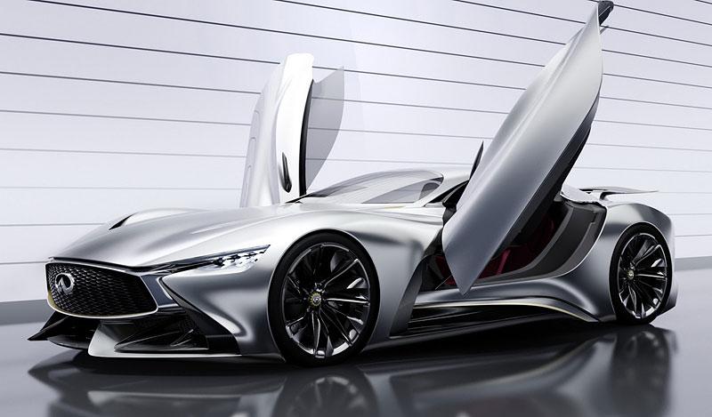 Infiniti Vision Gran Turismo Concept: Bumerang s vizí budoucnosti: - fotka 10