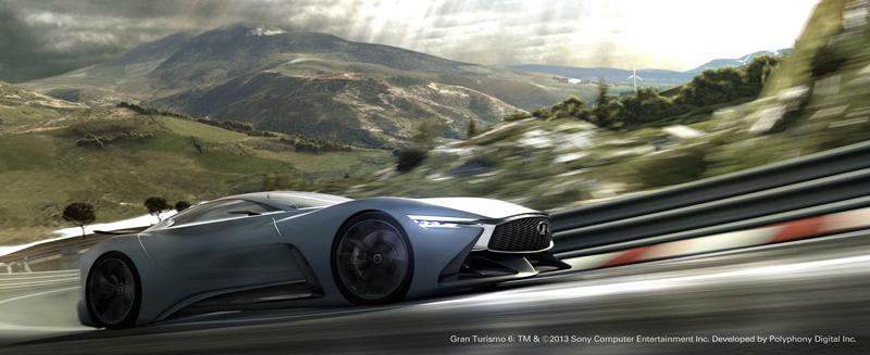Infiniti Vision GT Concept vystoupilo z virtuální reality (+video): - fotka 22