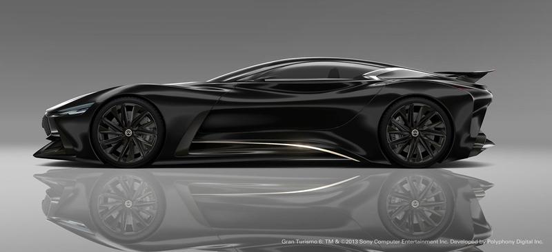 Infiniti Vision GT Concept vystoupilo z virtuální reality (+video): - fotka 23