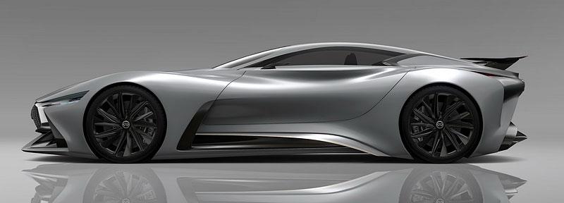 Infiniti Vision Gran Turismo Concept: Bumerang s vizí budoucnosti: - fotka 11