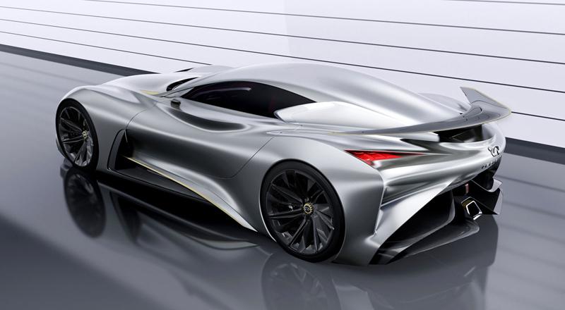 Infiniti Vision GT Concept vystoupilo z virtuální reality (+video): - fotka 26