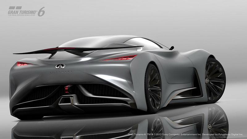 Infiniti Vision Gran Turismo Concept: Bumerang s vizí budoucnosti: - fotka 14