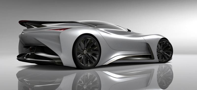 Infiniti Vision GT Concept vystoupilo z virtuální reality (+video): - fotka 30