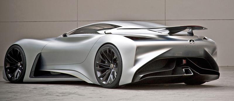 Infiniti Vision GT Concept vystoupilo z virtuální reality (+video): - fotka 32